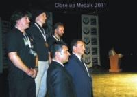 Category Close up: Daan Delbare, Rok Kovacic, Arthur Josia Telle Thiemann, Representative Xavier Duran Soler