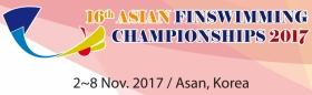 16th Asia Finswimming Championship
