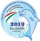 6th World Meeting of Young Finswimmers - Kecskemét, Hungary