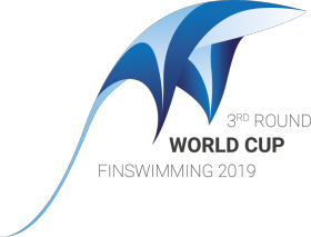 Finswimming World Cup - round swimming pool