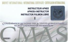 Apnoea Instructor Training Programme