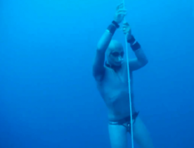 Homar Leuci's new Apnea World Records - Soverato Bay, Italy