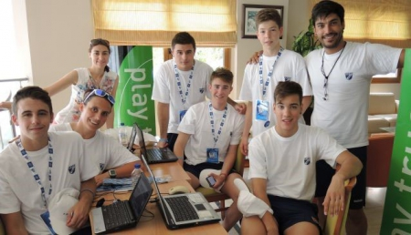 Antidoping Education program carried out by SportAccord at the 2014 CMAS Finswimming Junior World Championship