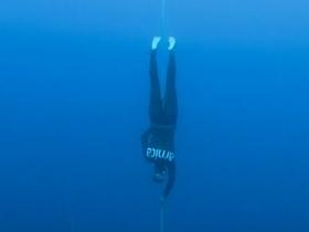 New Free Immersion World Record from Mrs. Derya CAN - Kas, Antalya,Turkey