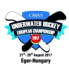 15th CMAS Underwater Hockey Open European Championships Eger 2017, Hungary
