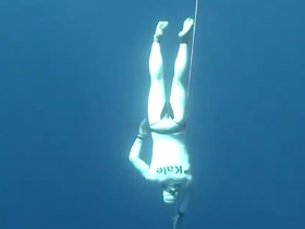 Devrim Cenk Ulusoy's World Record of Free Immersion Apnoea / Kas, Antalya 2011