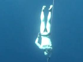Devrim Cenk Ulusoy's World Record of Free Immersion Apnoea / Kas, Antalya 2011