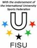 endorsement of FISU for university finswimming competition