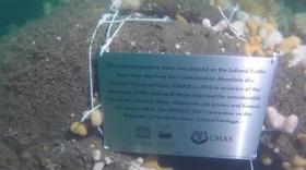 Jutland Battle Anniversary 2016. - Commemorative Stone by CMAS