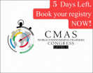 5 Days Left. Book your registry NOW! - 1st Online CMAS World Finswimming Training Congress