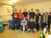 Le Comité technique aide la Fédération Suédoise avec la formation des nouveaux instructeurs pour le mélange de NITROX-TRIMIX