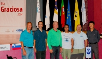 From left to right: Lasse Gustafsson/Sweden, Orhan Aytur/Turkey, Juergen Warnecke/Germany, Franco Banfi/Swiss, Armando Ribeiro/Portugal, Byong doo Lee/Korea