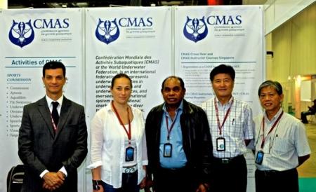 La CMAS en Asie