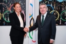 Meeting Thomas Bach - Anna Arzhanova