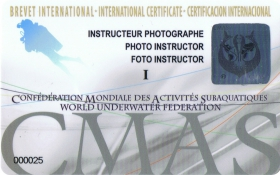 Underwater Photography Instructor Training Programme