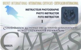 Underwater Photography Instructor Training Programme