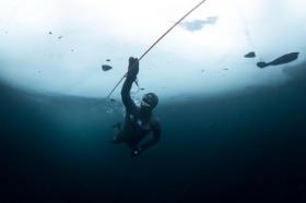 Arthur Guérin-Boëri - 175 m under ice!