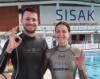 Three free diving world records have been broken in Croatia