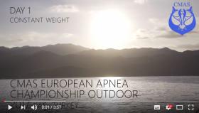 Day 1 - 1st CMAS European Apnea Outdoor Championship - Turkey
