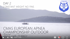 Day 2 - 1st CMAS European Apnea Outdoor Championship - Turkey