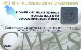 Technical Skills Diver Training Programme