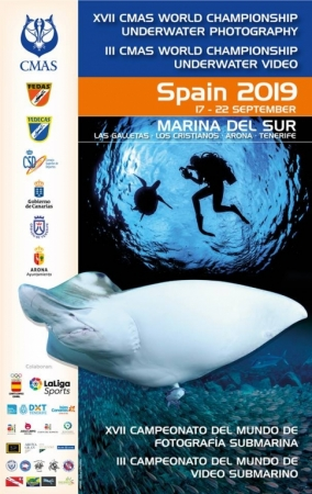 Underwater Photo and Video World Championship. Tenerife, Spain – September 2019